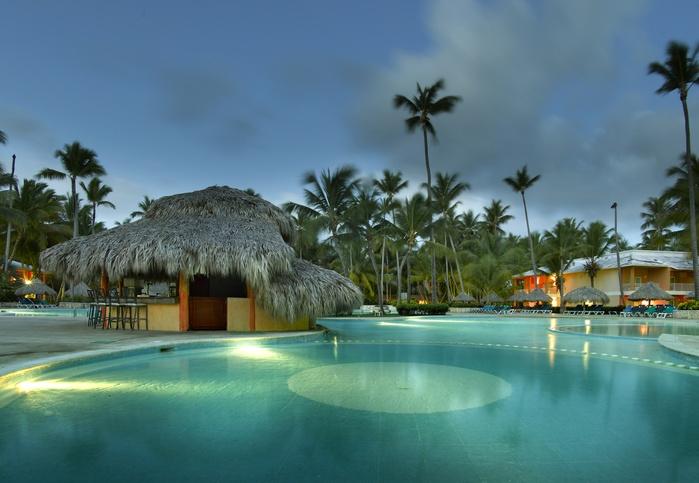 Grand Palladium Palace Resort  Punta Cana  Caribbean